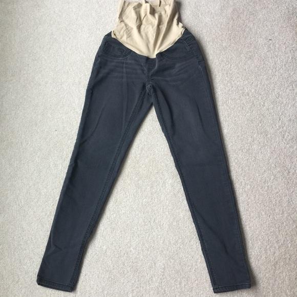 c621269ca9e33 Indigo Blue Pants - 🤰🏼Indigo Blue Black Maternity Jeggings